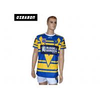 Quality Anti Shrink Rugby World Cup Jerseys Strong Moisture Absorption Wash Easily for sale