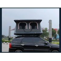 Quality Half Automatic Z Shaped Hard Shell Roof Top Tent for sale