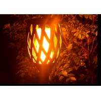 Quality Flickering Solar Led Garden Lights With Dance Flame For Pathway Yard Decoration for sale