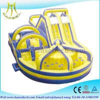 Buy cheap Hansel best quality giant inflatable slide,playing equipment for wholesale from wholesalers