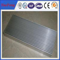 Quality Hot! custom heatsink supplier aluminum extrusions 6063 with cheap price mill finish for sale