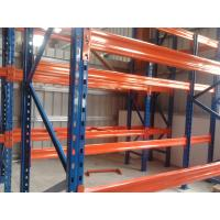 Buy 3 Levels Heavy Duty Racking System With Steel Plate Decking 3000H * 1000D * 2300L at wholesale prices