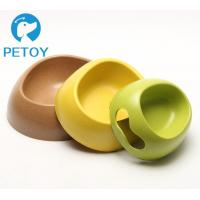 Buy Portable Dogs Bio Bamboo Pet Bowl Environmental Friendly New Design at wholesale prices