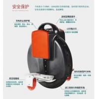 Quality black Gyro Stabilized Electric Unicycle , Motorised portable Seatless Unicycle for sale