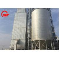 China 20t - 1000t Steel Grain Silo 11m Diameter With Galvanized Sheet 95㎡ Base Area on sale