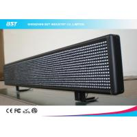 Quality Commercial Advertising Taxi Led Display Support Wifi / Remote Control for sale