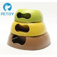 Buy cheap Portable Dogs Bio Bamboo Pet Bowl Environmental Friendly New Design from wholesalers