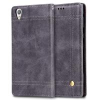 Quality Book Cover Sony Xperia Protective Case , Screen Protection Sony Xperia L Flip Cover for sale