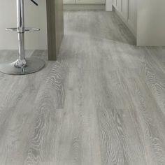 Plastic Wood Look Tile Flooring , UV Coating Glue Down Vinyl Plank Flooring