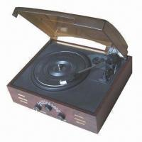 China Electric Gramophone with AM /FM Radio and 220V AC Input Voltage on sale