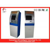 China 22 Kiosk Payment Machine / Bill Payment Kiosk With Cash / Coin Accepter For E-top Up on sale