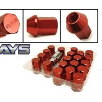 Quality High Performance Forged Wheel Parts / 35mm Rays Formula Lug Nuts for sale