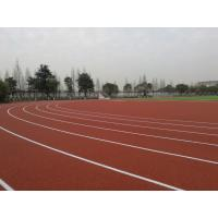 Quality Non Toxic Harmless Running Track Flooring With Good Water Drainage for sale