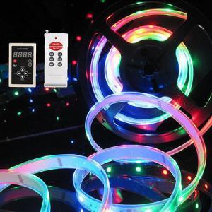 China SMD5050 RGB Magic Dream Color 5M Flash LED Strip Light 133 change WP on sale