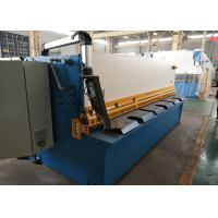 Quality CNC Hydraulic Sheet Metal Shear For Iron Carbon Sheet / Stainless Steel for sale