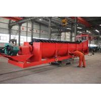 Quality Reducing Unbalanced Impact Single Spiral FLG Spiral Classifier mineral Separating Machine for sale