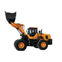 China Engineering And Construction Medium Wheel Loader , Compact Tractor Loader on sale