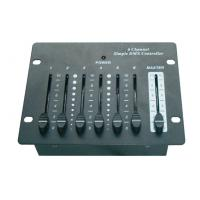 Quality Simple DMX 512 Controller Light 6CH stage light controllers DC 9V for sale