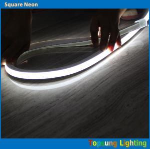 China hot sale square 230v white led neon rope light ip67 on sale