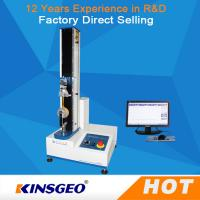 Quality Single Column Computerized Universal Testing Machines 5KN With Metal / Rubber for sale