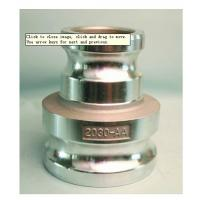 Quality Aluminum reducing cam groove coupling for fluid control  Type  AA MIL-A-A-59326 Gravity casting for sale