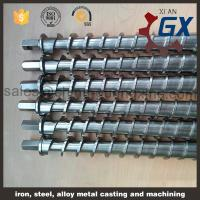 Quality extruder single screw barrel for plastic machine spare parts for sale