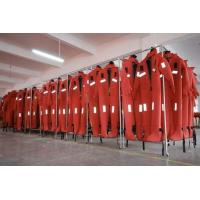 Quality 142N CR Expanded Neoprene Composite Cloth SOLAS Marine Lifesaving Suit For Sale for sale