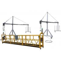 China Aluminium ZLP630 suspended working platform window cleaning equipment on sale