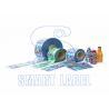 Temper Evident Shrink Bands for Plastic Bottles PVC Biodegradable 40 Micron for sale