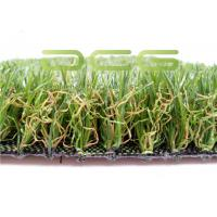 Quality High Density Artificial Turf Backyard Fade Resistant Soft Like Real Grass for sale