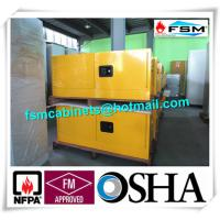 Quality Steel Flammable Safety Cabinets With Double Doors For Hazardous Material Storage for sale