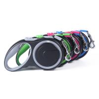 Quality Strong Dual Retractable Pet Leashes  With Short - Stroke Braking System for sale