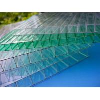 Quality Impact Resistance Greenhouse 6mm Twin Wall Polycarbonate Sheet With UV Coated for sale