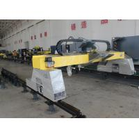 Quality 7 Inch Color Screen CNC Flame Plasma Cutting Machine Steel Hollow Beam Design for sale