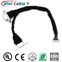 China IATF16949 26AWG 130mm Computer Monitor Cables on sale