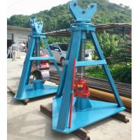 Quality Adjustable Height Tower Erection Tools Hydraulic Reel Jack 500kn Rated Load for sale