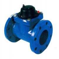 Quality DN 50 / DN 200 Smart Water Meter Removable Woltman Water Meter With Turbine for sale