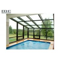 Buy cheap Curtain Wall 4 Season Solarium , Mill Finish Sunrooms Patio Enclosures from wholesalers