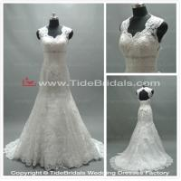 Quality NEW! Mermaid Sweetheart Appliques Lace Chapel Train Wedding Dress #AS2662 for sale