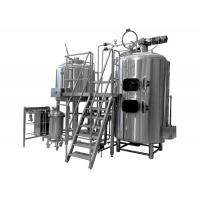 China 500L Brewing Equipment Stainless Steel Fermentation Tank Steam Jacket Brew Kettle on sale