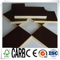 Quality 1220X2440X18mm Black Film Faced Construction Plywood for sale