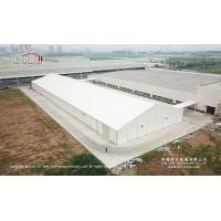 20x80m Large Aluminum White Waterproof Temporary Car Storage Tents Structure For Sale for sale