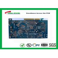 Quality Computer Multilayer Circuit Board with OSP + Gold Finger Blue Solder Mask for sale
