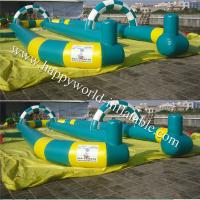 Quality plastic runway , inflatable sports games , go carts track for sale