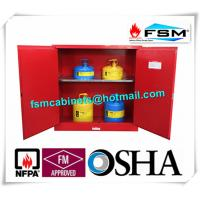 Quality 30 Gallon Chemical Storage Lockers , Safety Containers For Flammable Liquids for sale