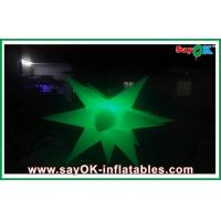 Quality 1.5m Diameter Inflatable Led Lighting Decoration Inflatable Star Decoratiom for sale