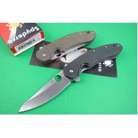 Quality Spyderco knife CT.156 (black handle) for sale