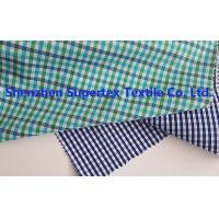 Quality Men'S Clothing Fabric Cotton Poplin Y/D Checks  85~115GSM 147CM for sale