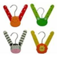 Quality Colored Plastic Child Hanger (WDH0004) for sale