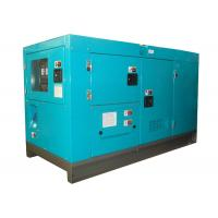 China Airport 33KVA 30kw diesel generator with Japan isuzu engine 65dB 7 meters on sale